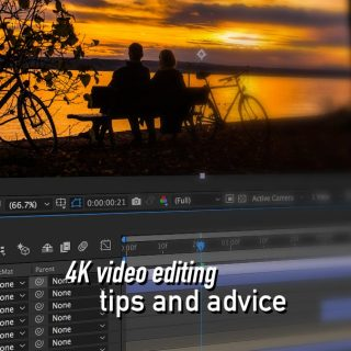 4K Video Editing